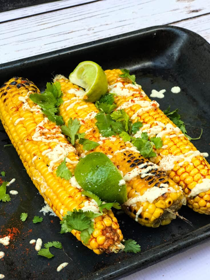 bbq vegan corn on the cob