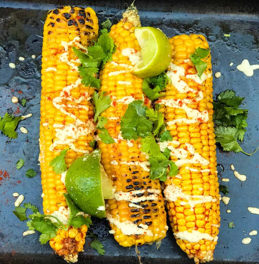 vegan bbq corn on the cob