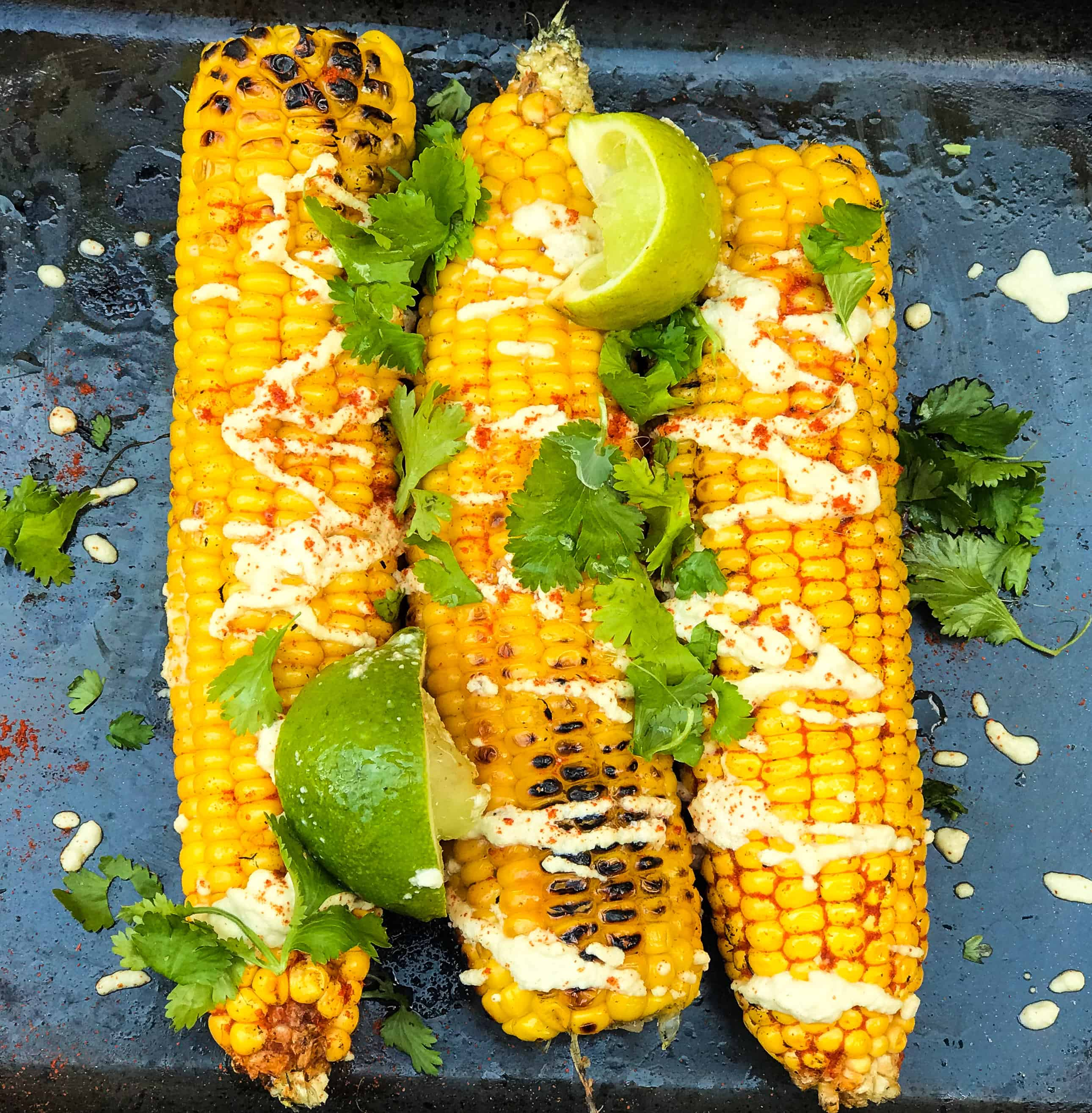 Succulent BBQ Vegan Corn On The Cob Recipe
