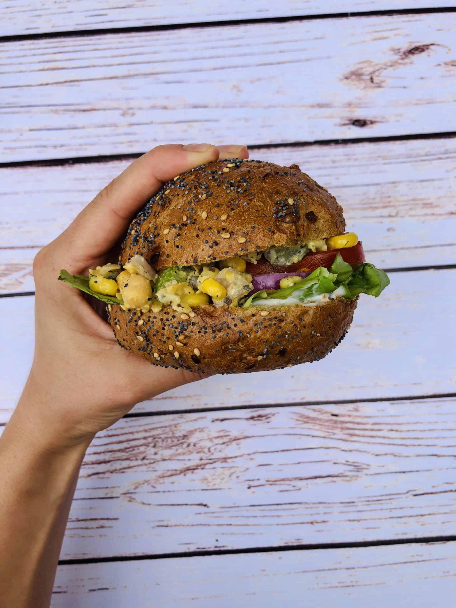 Vegan Tuna Sandwich | Chickpea Tuna Sandwich