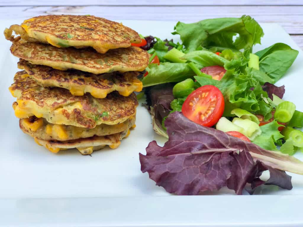 vegan corn cakes