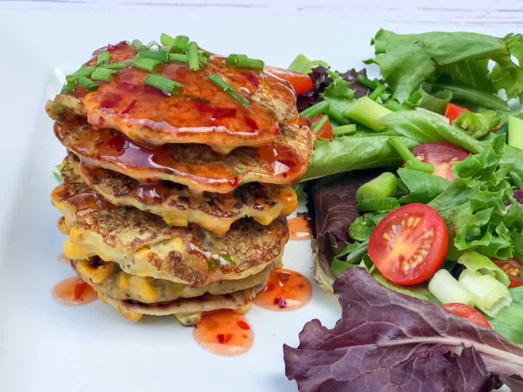 Vegan Sweetcorn Fritters