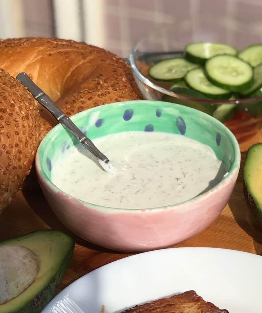 Vegan Dill Sauce/Vegan Dill dip