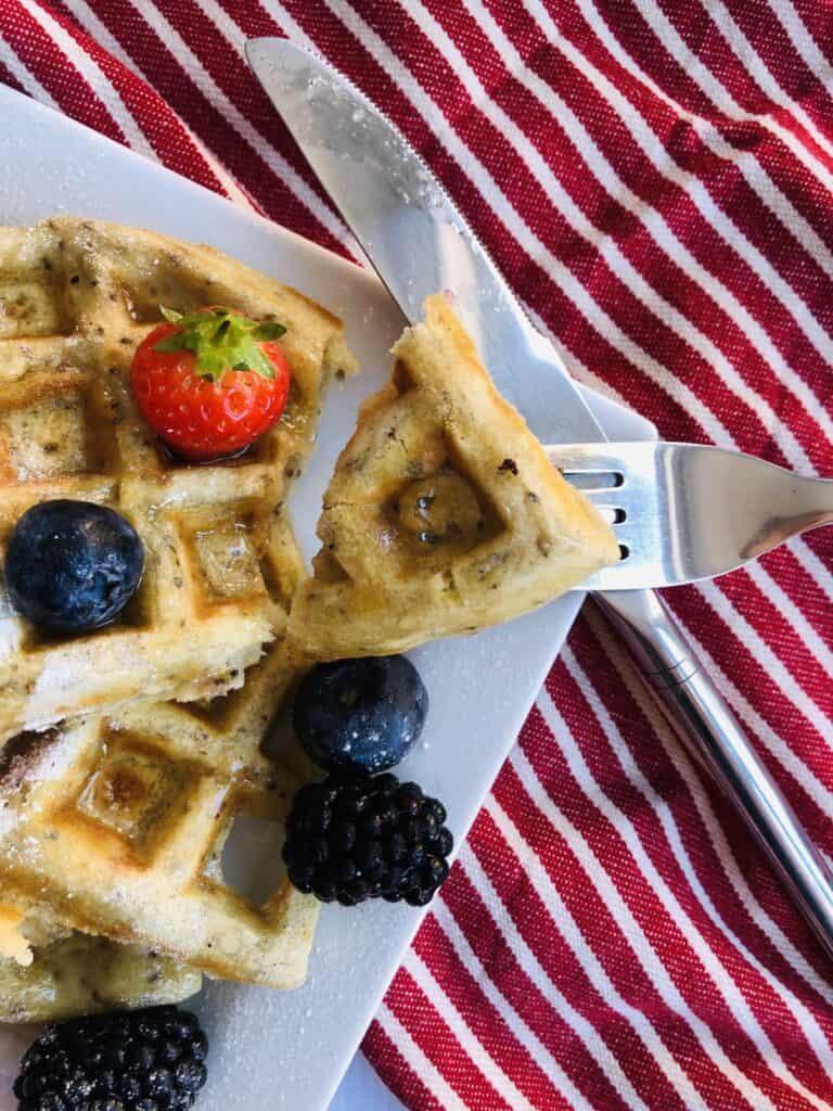 best Vegan Belgian Waffle recipe