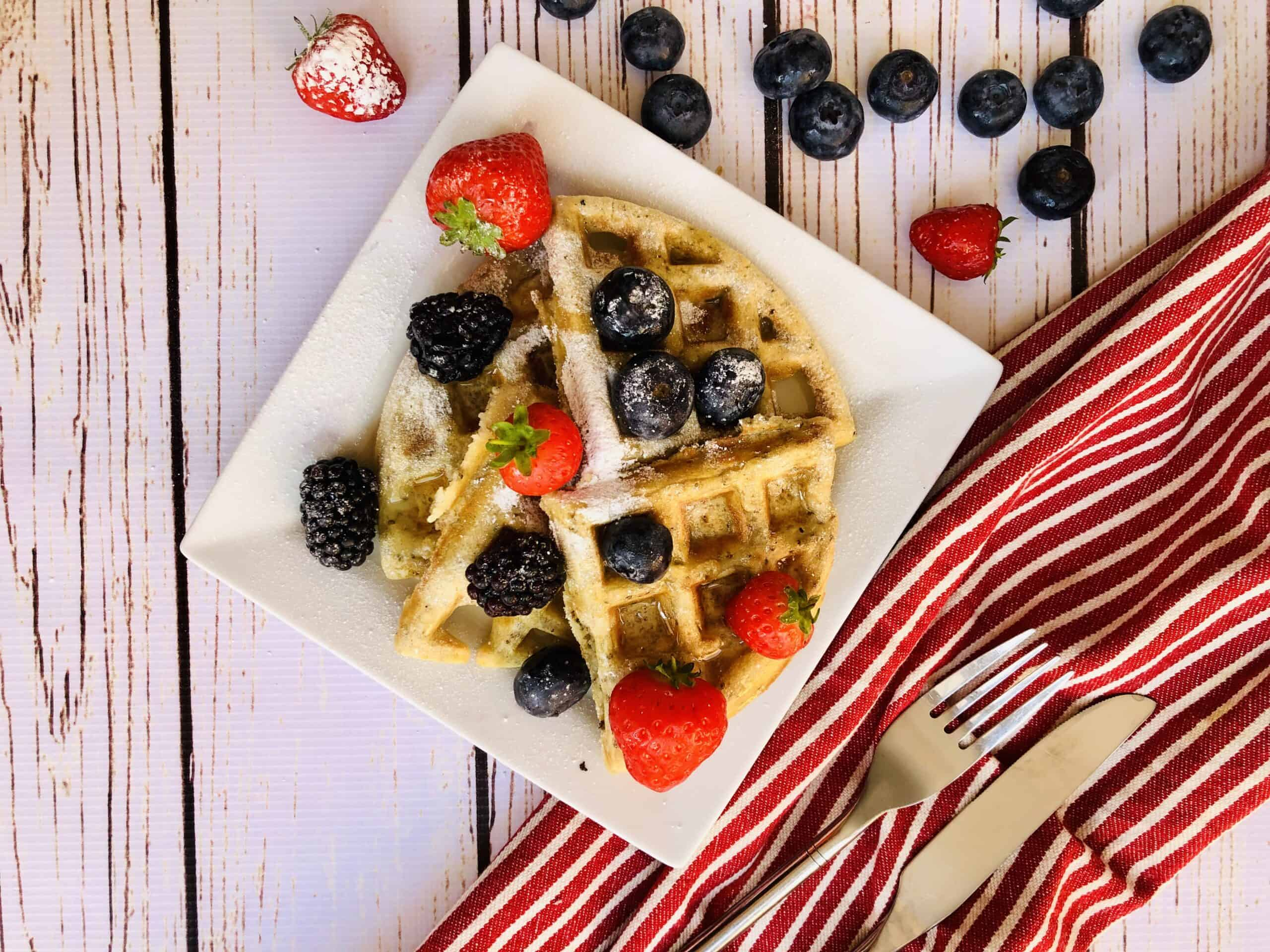 The Best Vegan Belgian Waffle Recipe