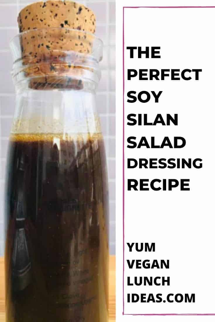Soy Silan Salad Dressing - Recipes with Date Syrup. This Salad dressing is unique, delicious and incredibly easy to throw together.  It has no processed sugars and it tastes great with spinach salads, or regular green salads. || Salad Dressing Recipes || Vegan Salad Dressings || Vegan Recipes || Plant Based || Sugar Free || Gluten Free || #yumveganblog #vegan #saladdressing #veganrecipes #recipes #silan #datesyrup