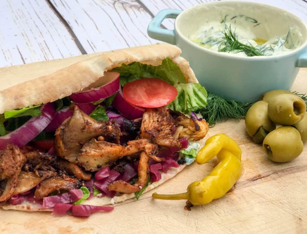 vegan shawarma vedan doner kebab recipe