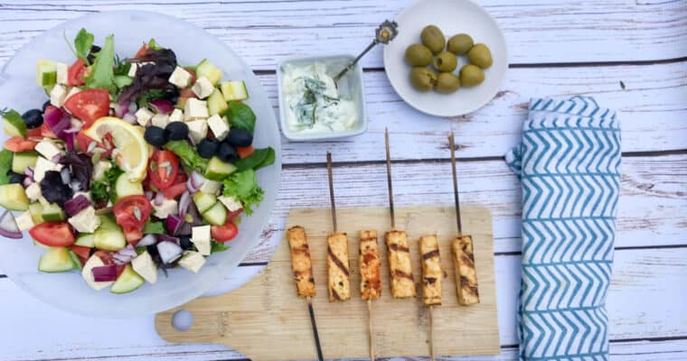 BBQ Vegan Souvlaki Recipe