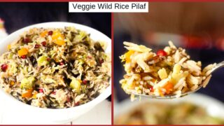 Wild Rice Pilaf with Vegetables