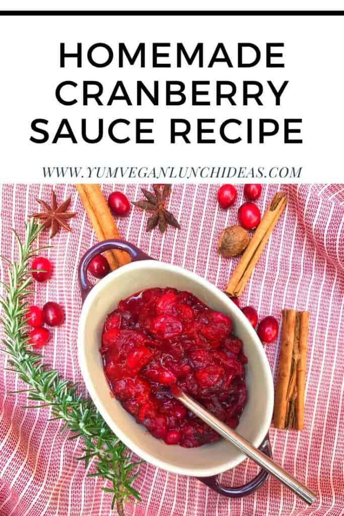 vegan cranberry relish