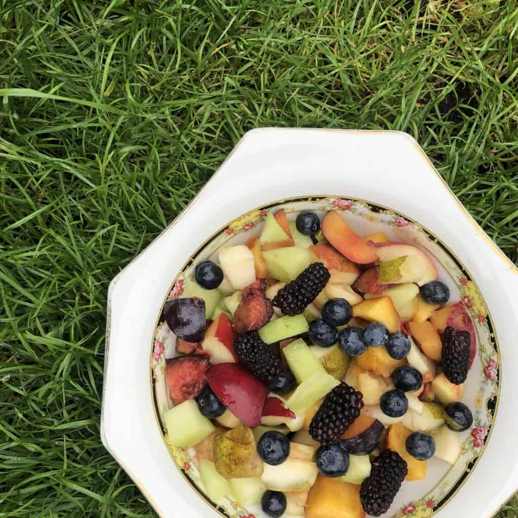 Vegan Meal Plan - Fruit Salad