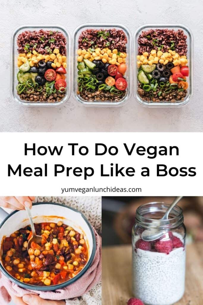 How to Vegan Meal Prep And Shop Like a Boss