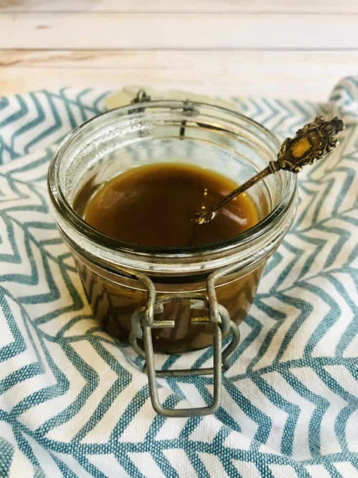 Vegan salted Caramel Sauce Recipe