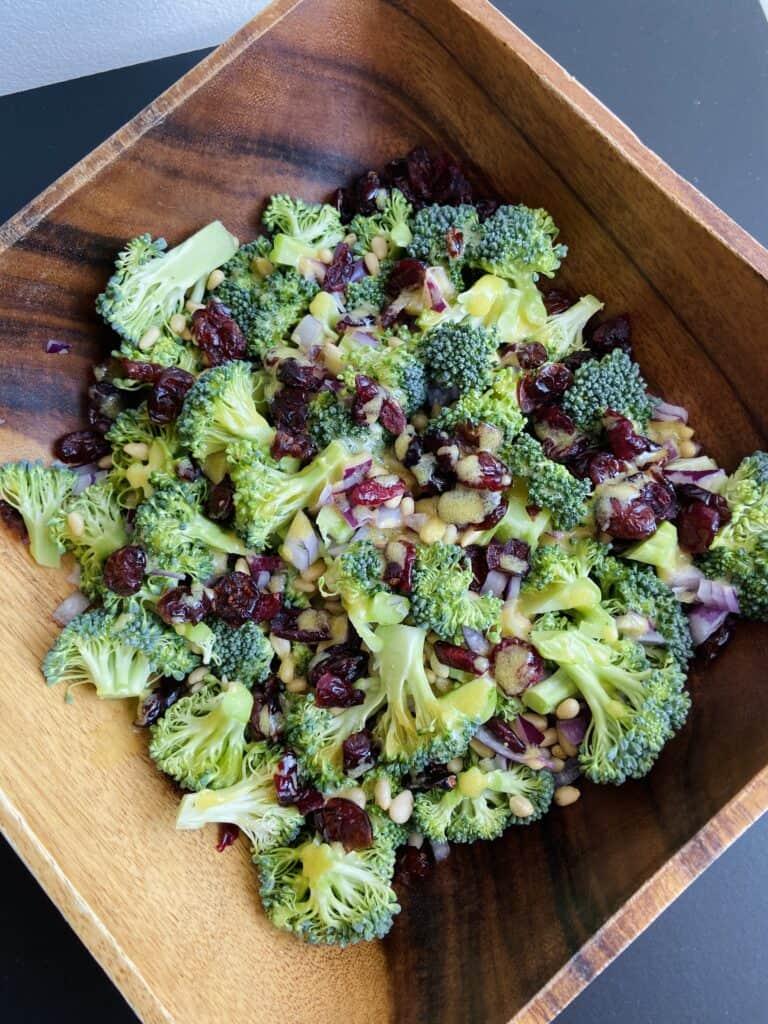 Vegan Broccoli Salad - vegan salads