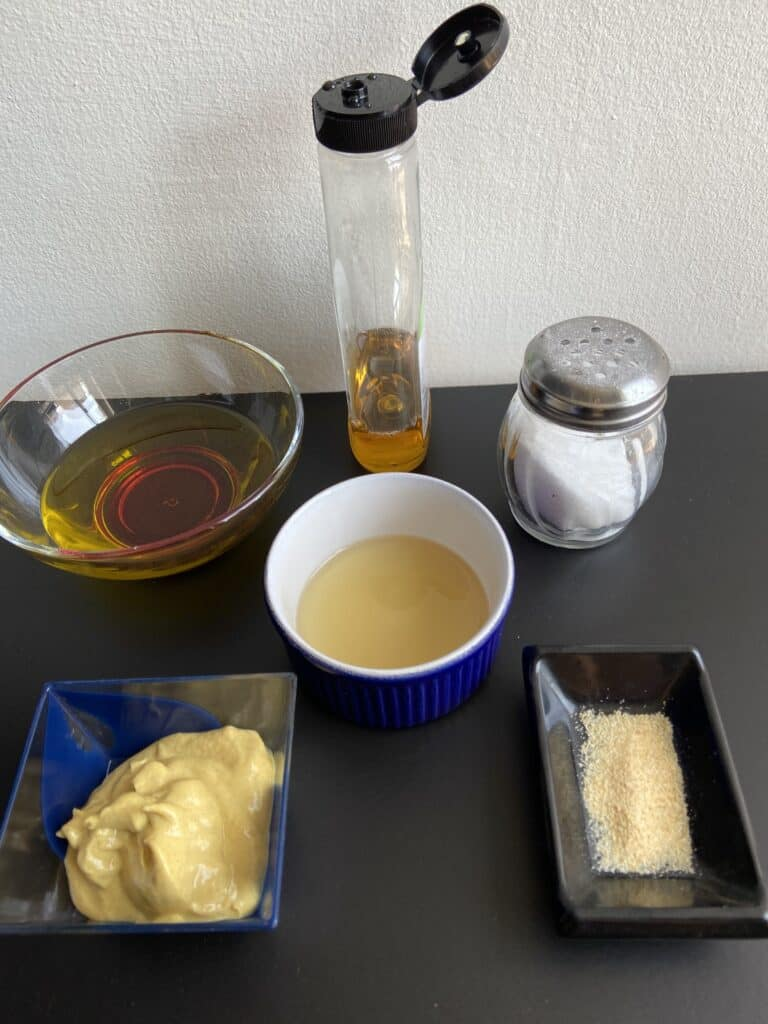 Vegan Honey Mustard Dressing Recipe Ingredients