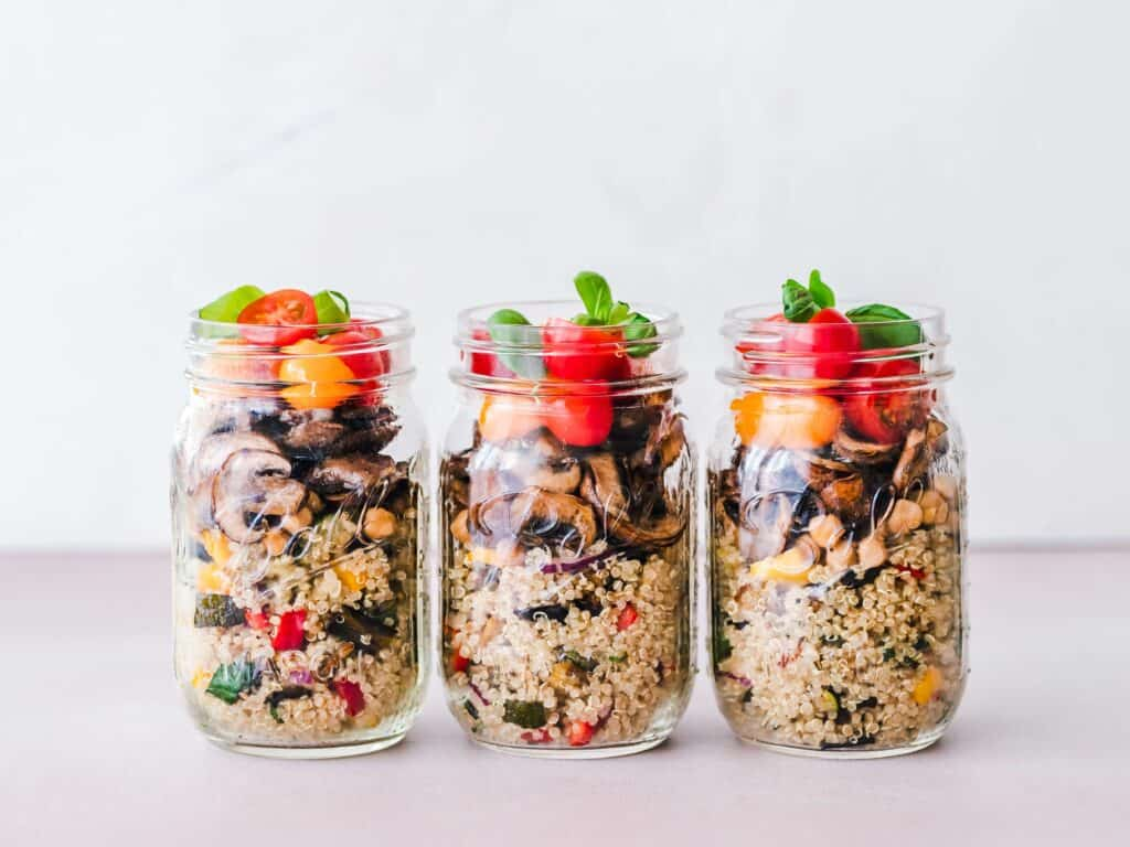 Vegan Meal Planning - Mason Jar (1)