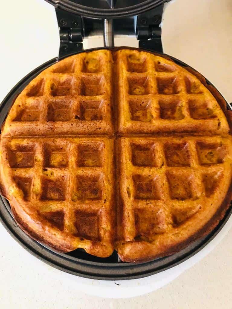 eggless waffle recipe - sweet potato waffles