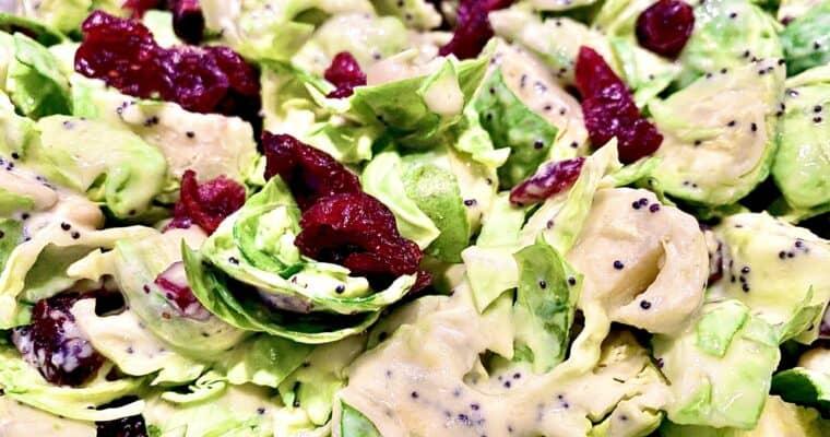 Vegan Brussel Sprout Salad