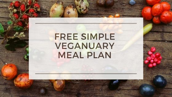 Get Your Veganuary Meal Plan