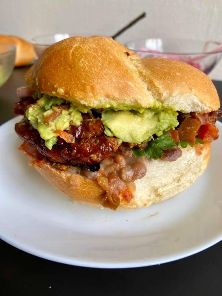 mexican tortas - vegan style