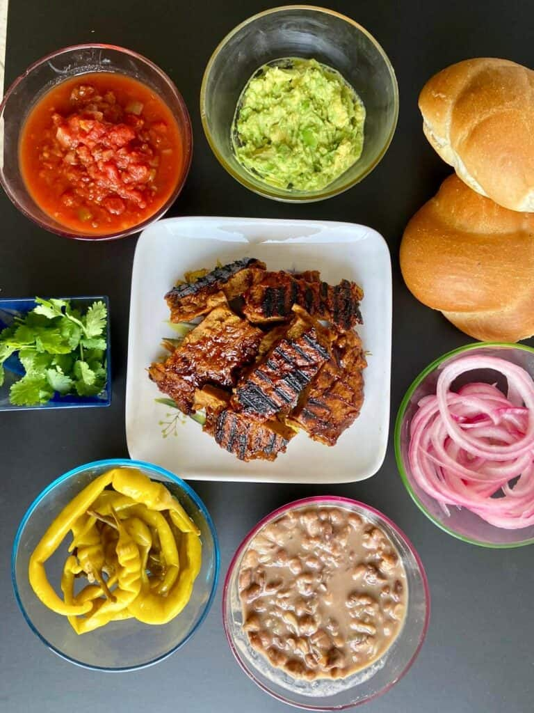 vegan tortas ingredients