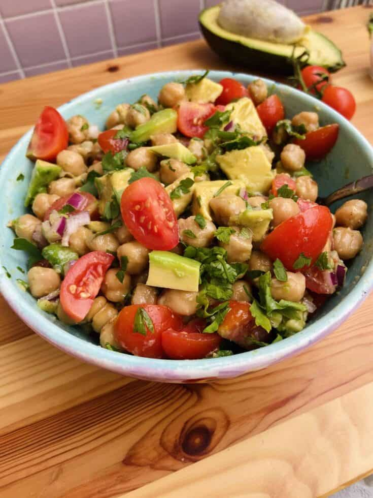 The Best Vegan Chickpea Salad Recipe