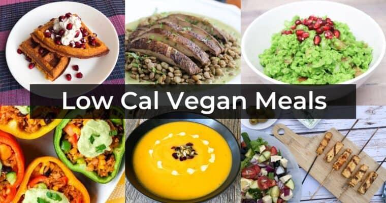 The Best Low Calorie Vegan Recipes