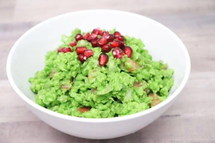 Pea Guacamole – Low-Calorie, Gluten-Free, Vegan, Low-Carb