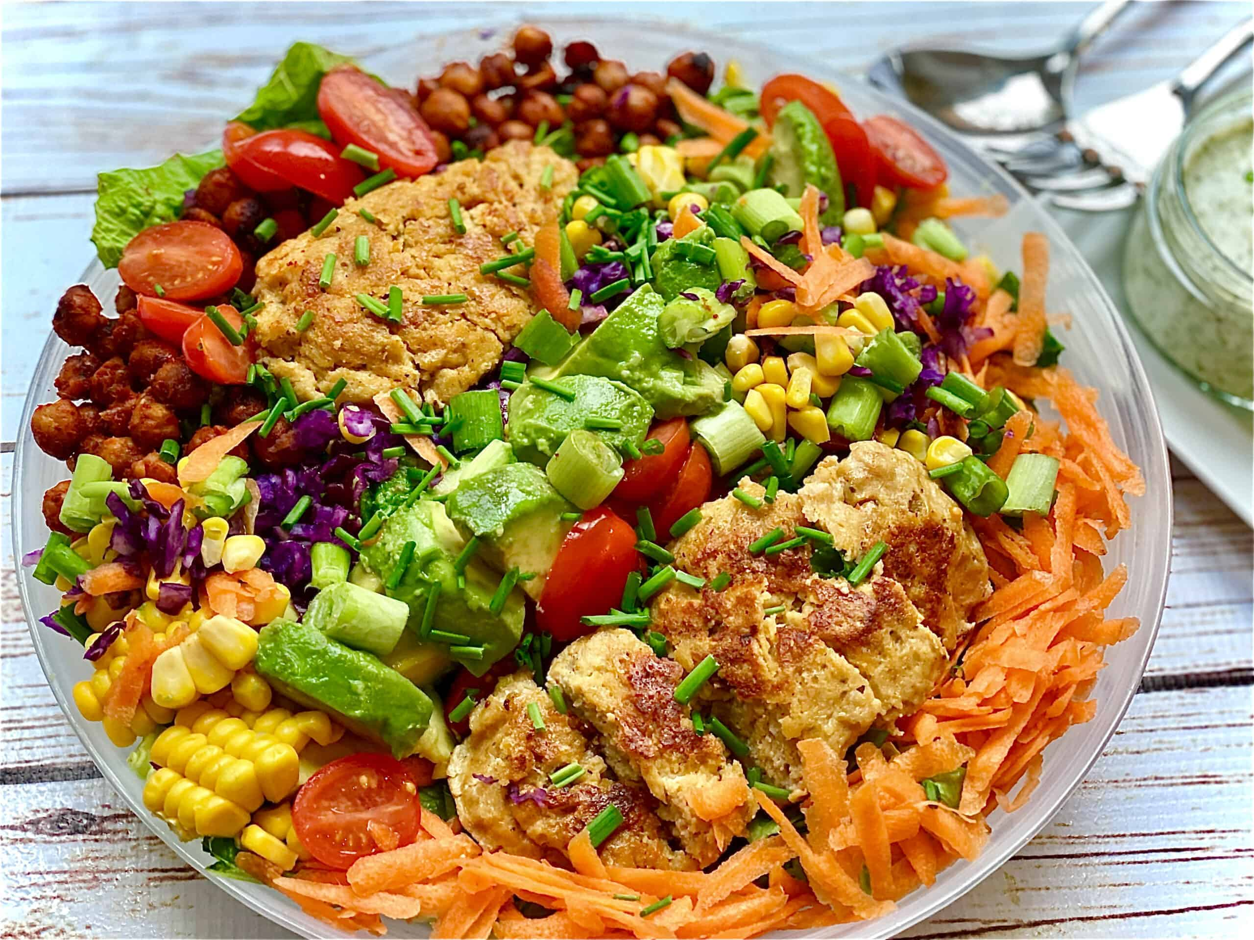 delicious vegan Cobb Salad recipe