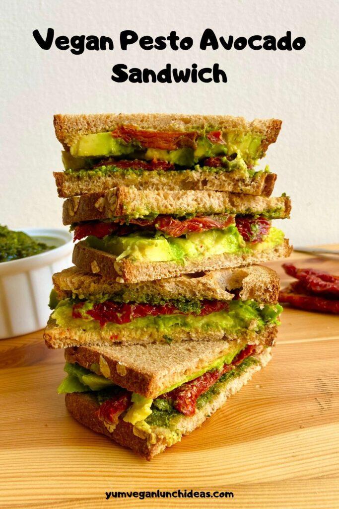 Vegan Avocado Sandwich Pin