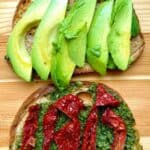Vegan Avocado Sandwich pin 2