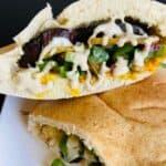 Vegan Sabich Eggplant Sandwich Pin 3