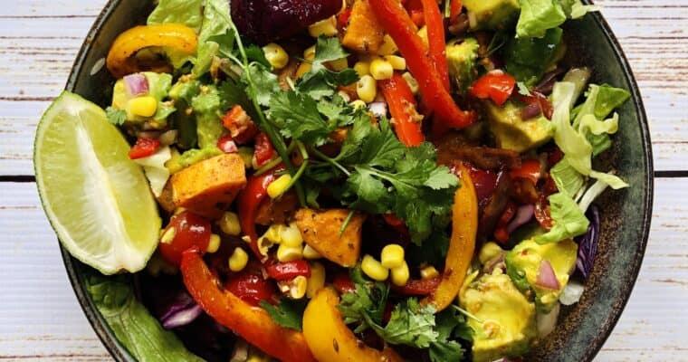 Vegan Santa Fe Salad Recipe