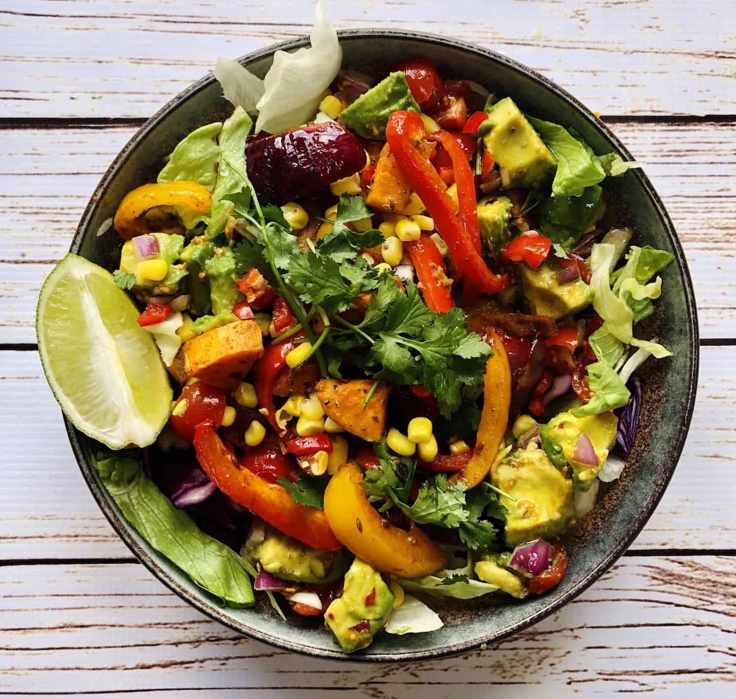 Vegan Santa Fe Salad Recipe