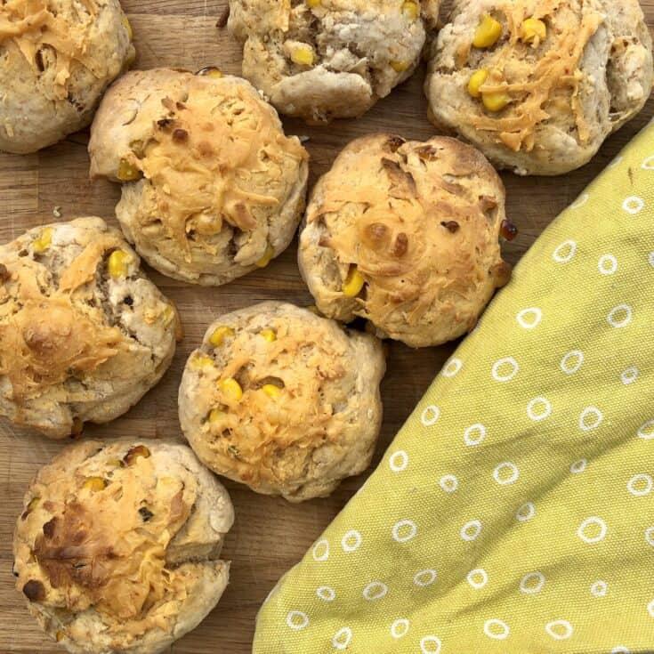 easy cheddar cheese scone recipe
