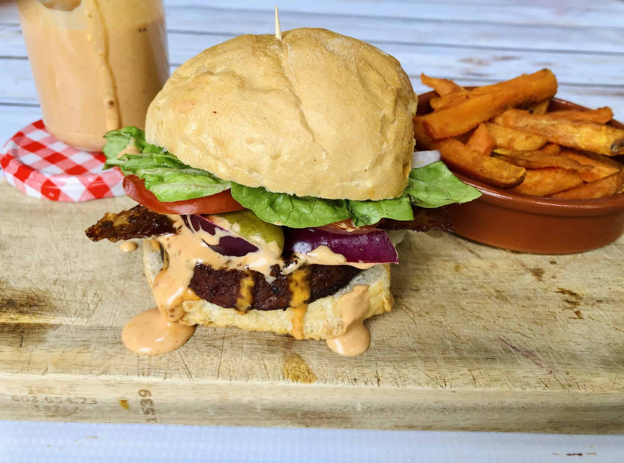 The Best Vegan Burger Sauce Recipe