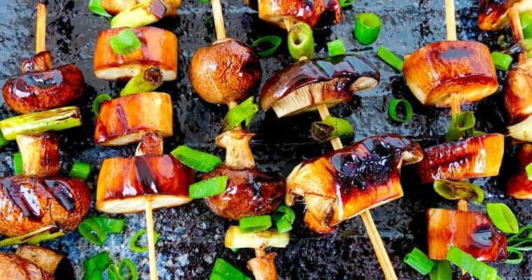 Vegan Yakitori Recipe – Vegan BBQ