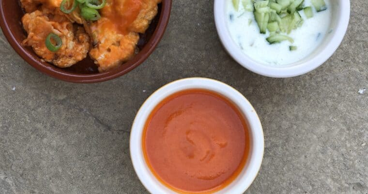 Easy Vegan Buffalo Sauce Recipe | Vegan Wing Sauce