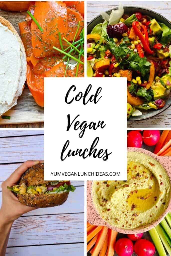 Cold Vegan lunches