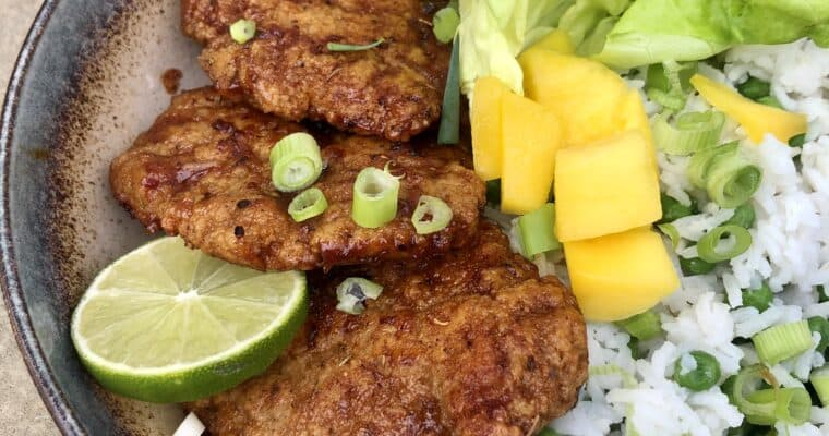 Vegan Jerk Chicken Recipe | Jerk Seitan Chicken