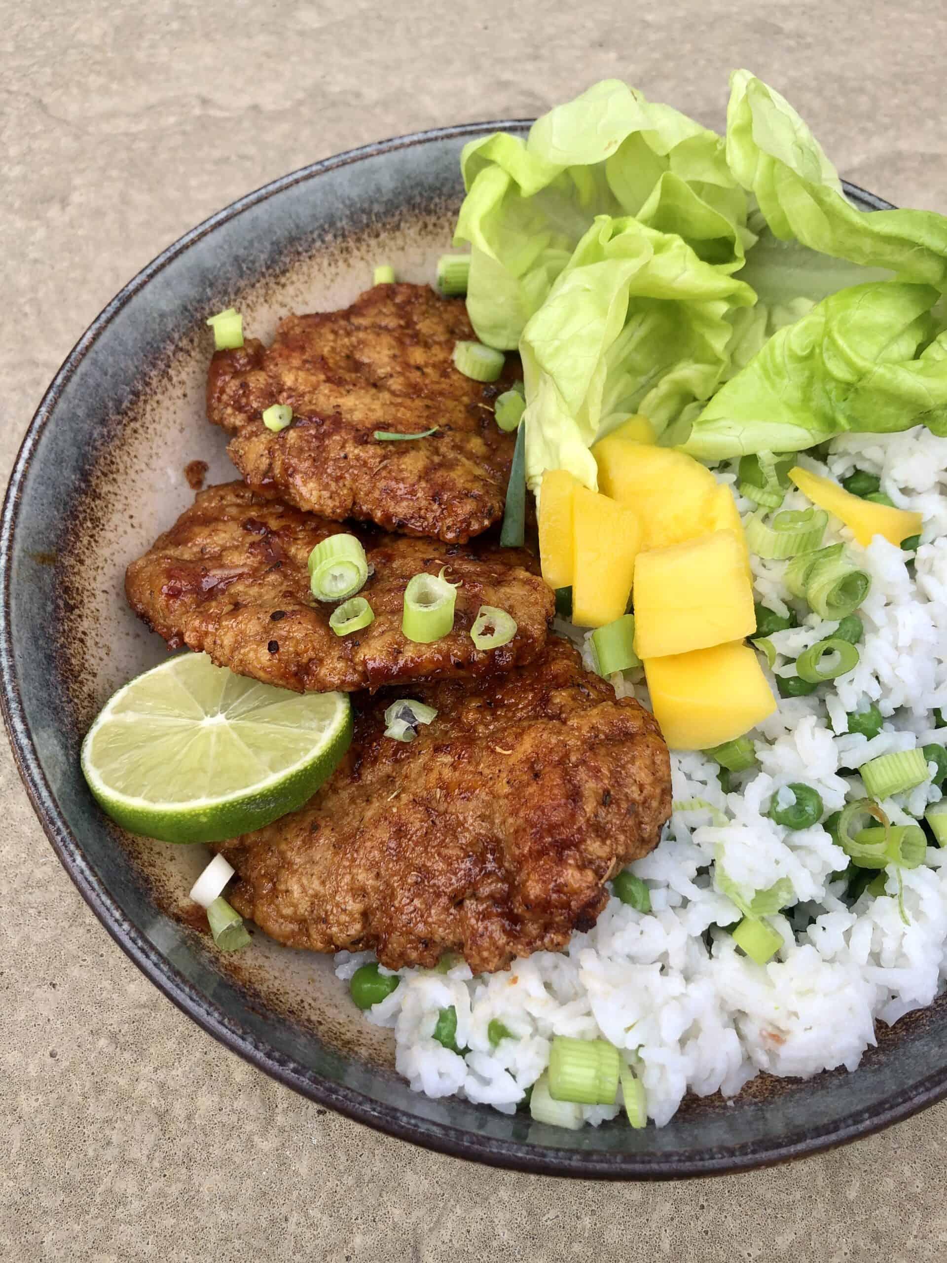 Vegan Jerk Chicken Recipe | Jerk Seitan Chicken