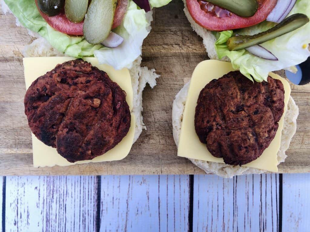 vegan beetroot burger recipe uk