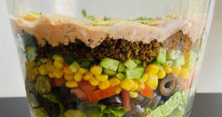 The Best Vegan Taco Salad Recipe