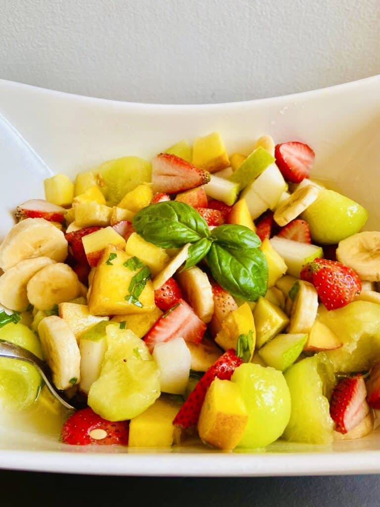 fruit salad with alcohol