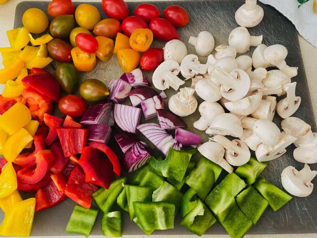 vegan kebab ingredients