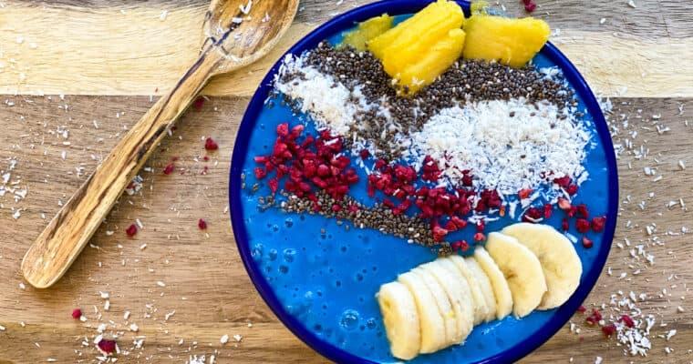 Blue Smoothie Bowl Recipe