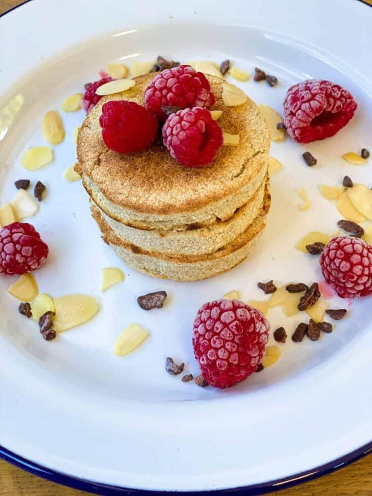 coconut flour vegan pancakes