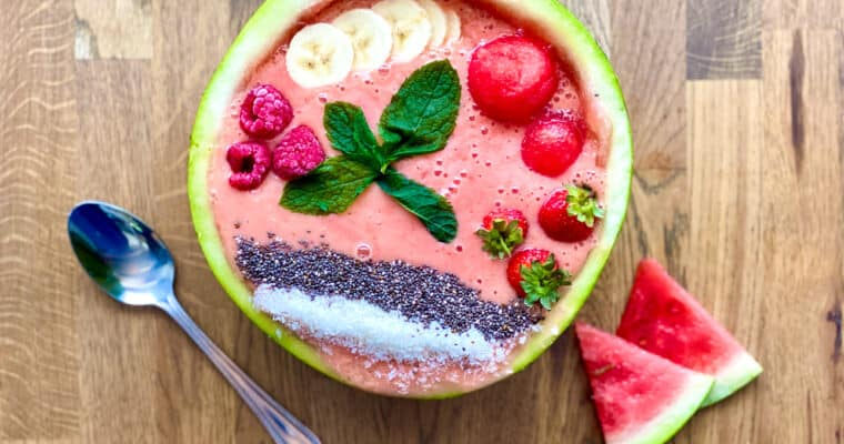 Watermelon Smoothie Bowl