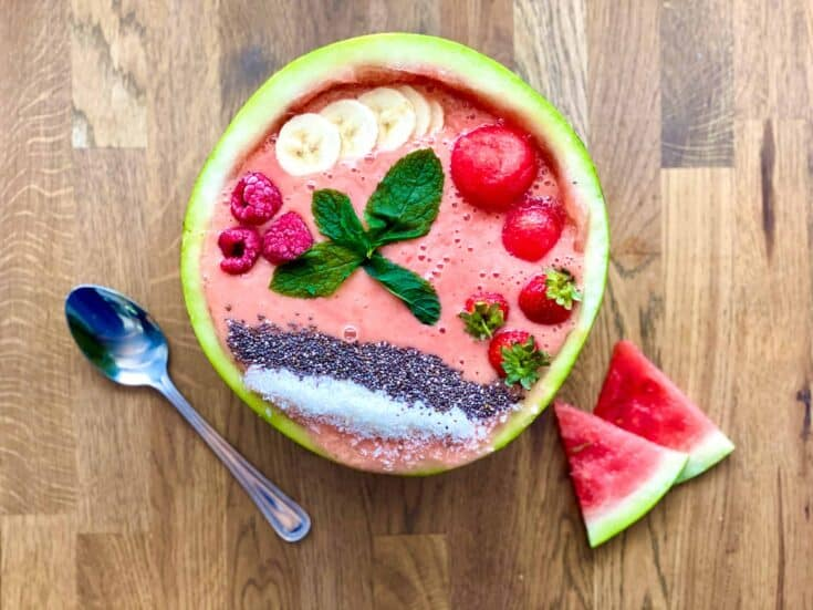 banana watermelon smoothie