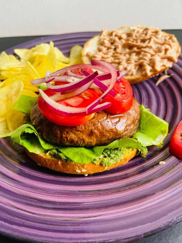 portobello mushroom recipe vegan